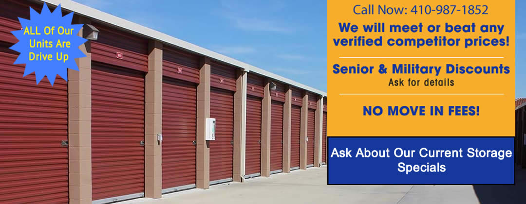 Self Storage Units Millersville Severna Park, MD